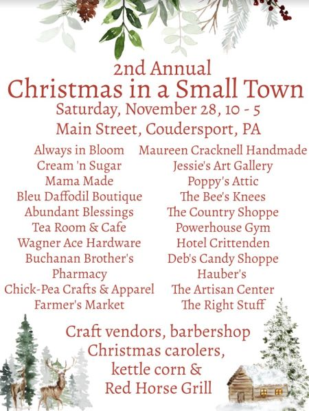 11-28 2nd Annual Christmas In A Small Town