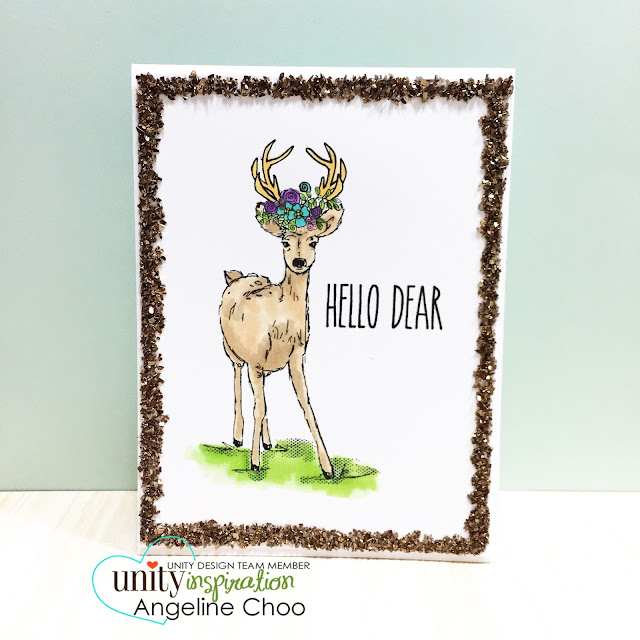 ScrappyScrappy: Frenzy of Unity Cards + [NEW VIDEOS] - Woodland Deer #scrappyscrappy #unitystampco #card #cardmaking #youtube #quicktipvideo #craft #papercraft #handmade