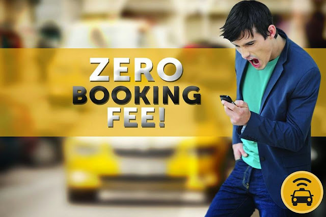 Easy Taxi's ZERO BOOKING FEE Promo from August 4 to September 4, 2014