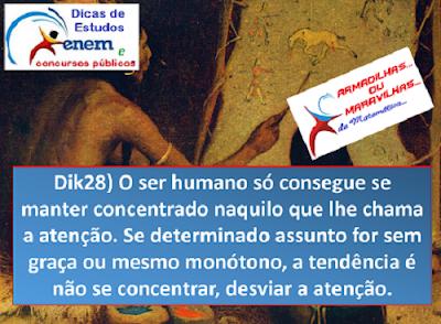Dik28: Manter Concentração É Importante