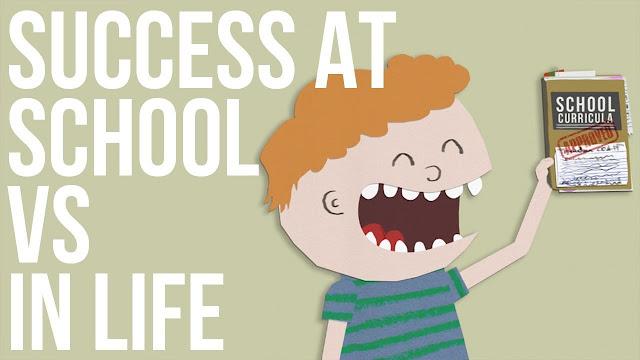 success in school vs success in life