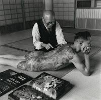 Técnica tradicional tatuajes Yakuza