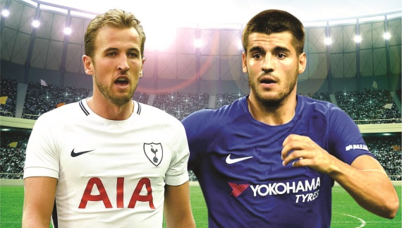 Tottenham host Chelsea on Sunday at Wembley Stadium