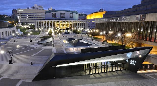 Place dês Arts em Montreal