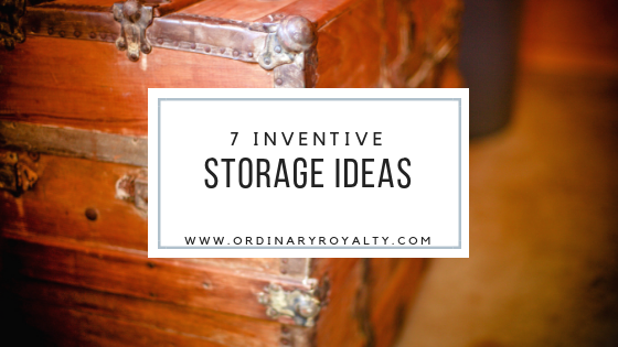 7 Inventive Storage Ideas