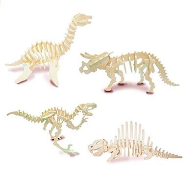 dinosaurios de madera para armar
