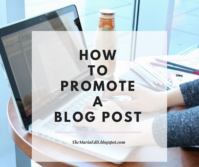 How to promote your blog posts