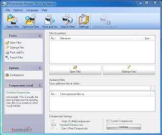 Meng-compress ukuran File  jpg,jpeg,png dengan Fileminimizer