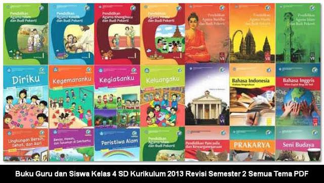 Buku Guru dan Siswa SD Kelas 4 Kurikulum 2013 Revisi Lengkap