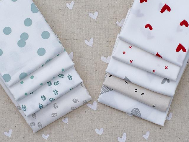 Maze and Vale Hand Printed Fabrics