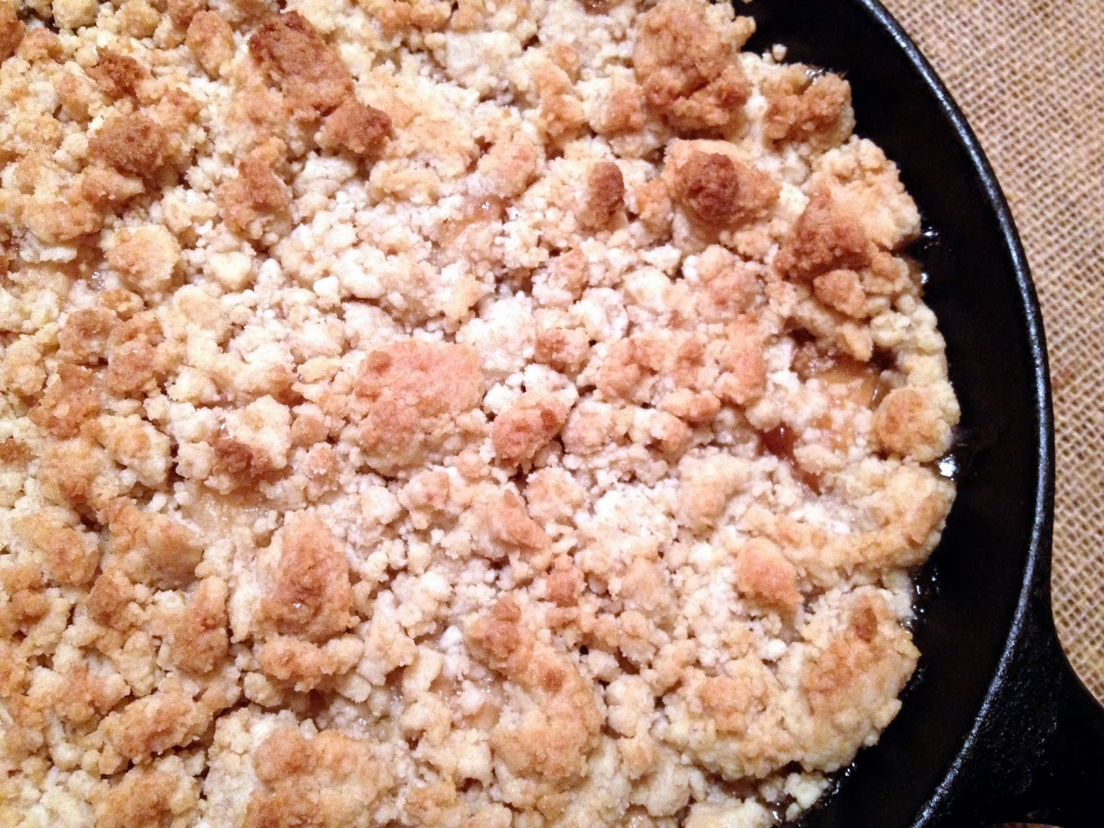 How to make apple crisp using canned pie filling