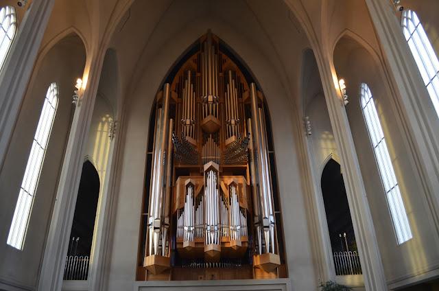 Por dentro da Catedral de Reiquiavique a Hallgrímskirkja
