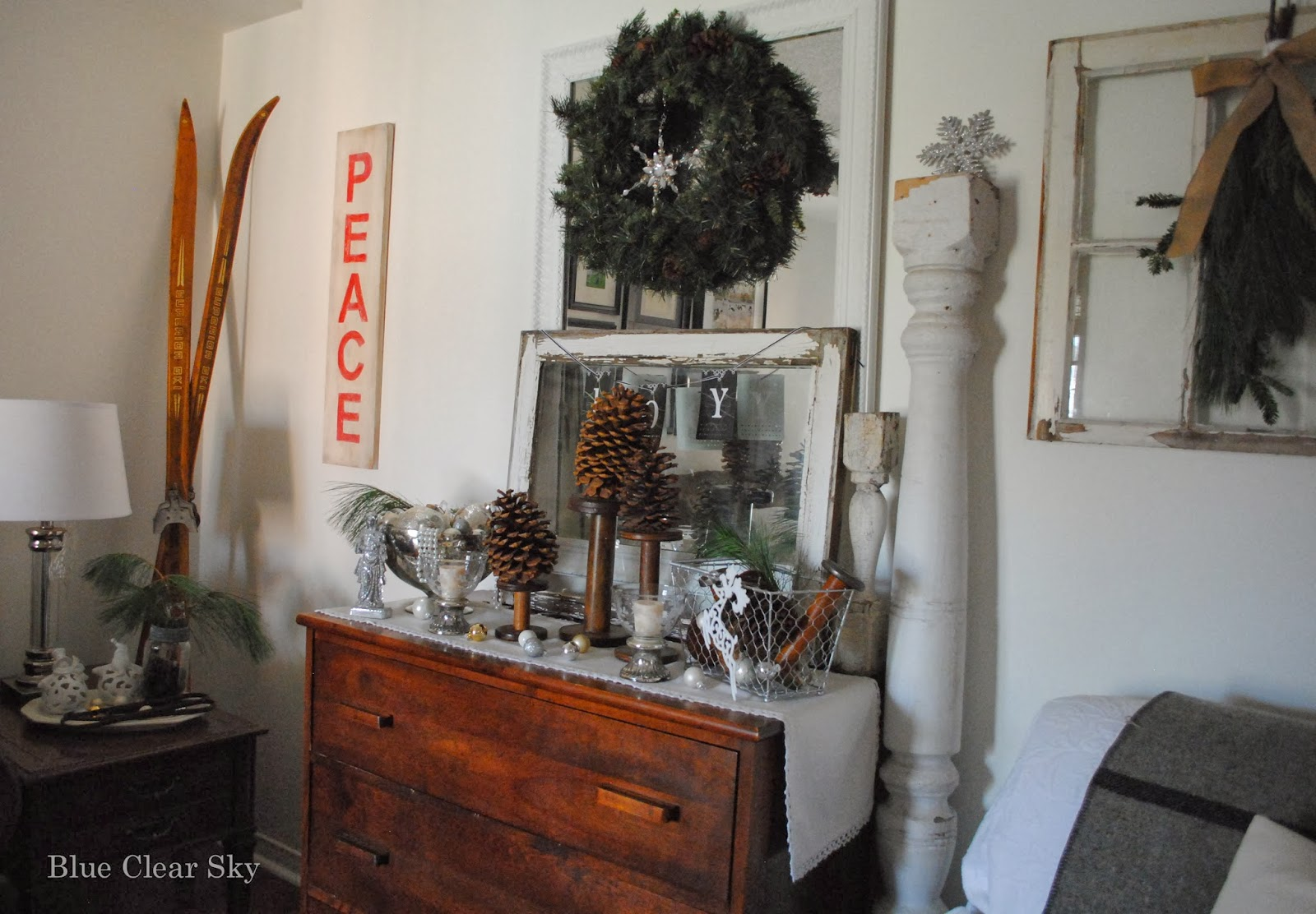 Canadian Tire Christmas Decorations Rustic Maple Christmas 2013 Our Rustic Country Living Room