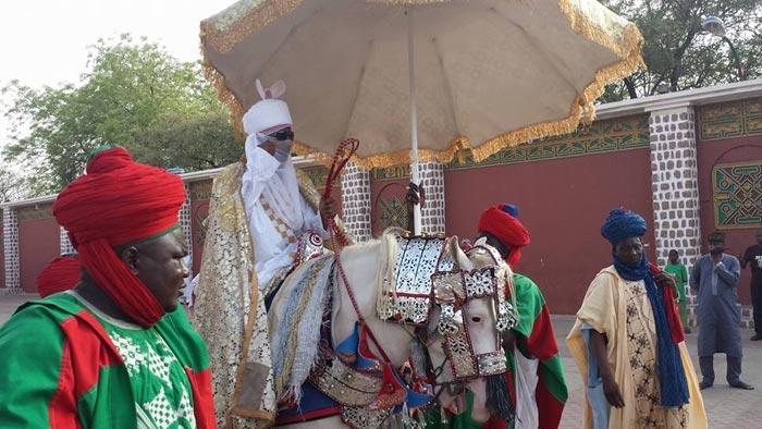 Photos: Vice President Osinbajo Pays Visit To Emir Of Kano