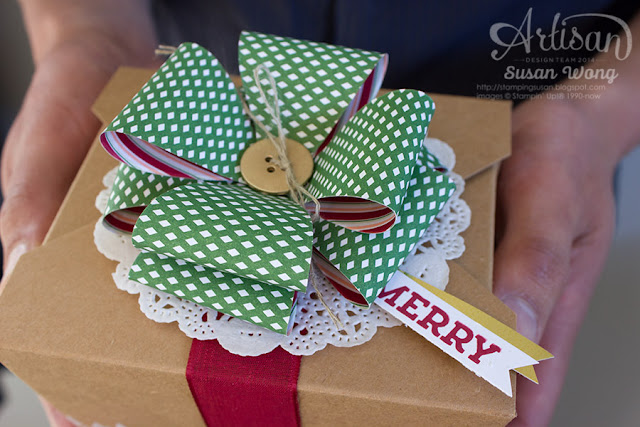 Gift Bow on a Takeout Box detail ~ Susan Wong