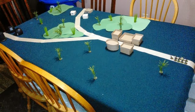 Sample game table