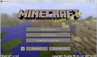 Minecraft v1.7.10 indir Full Sürüm