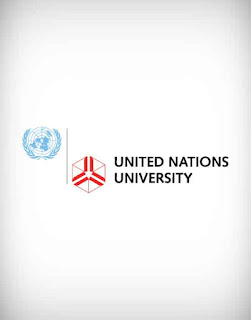 united nations university, united nations university vector logo, college, institute, education, campus, school, university
