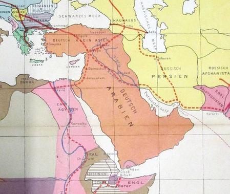 Afternoon Map Sykes Picot More Alternatives