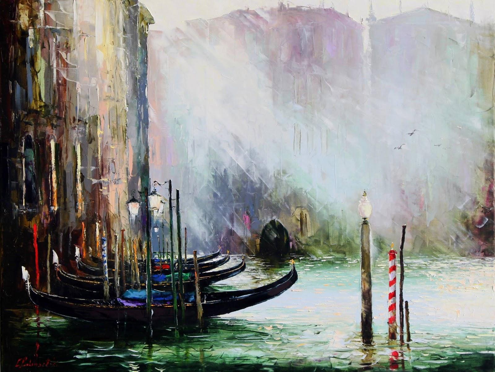 Gleb Goloubetski Morning breaks over Venice
