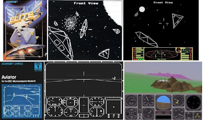 Flight Simulators: Elite, Aviator and SGI Dogfight