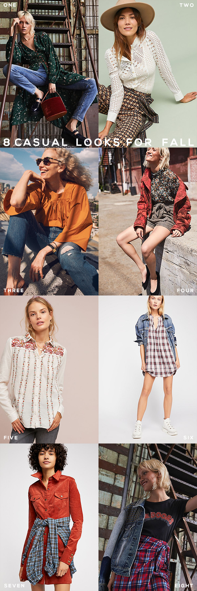 8 Casual Boho Looks For Fall