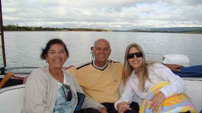 passeio de lancha - Lago de Furnas