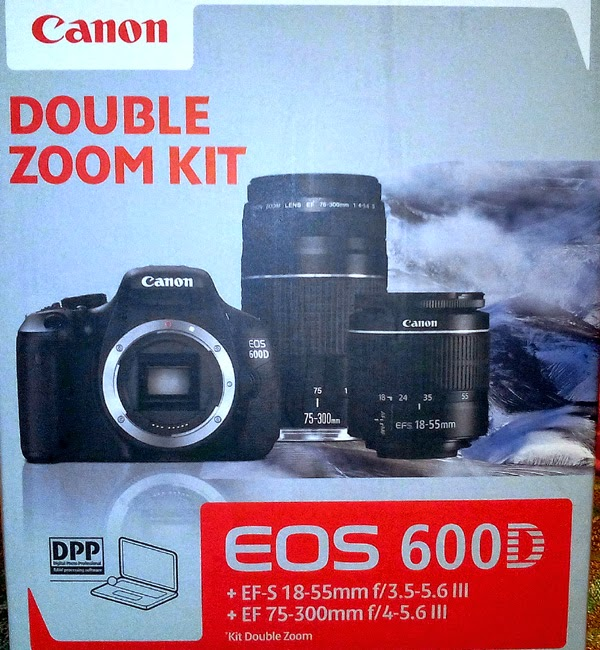 Canon EOS 600D Double Kit
