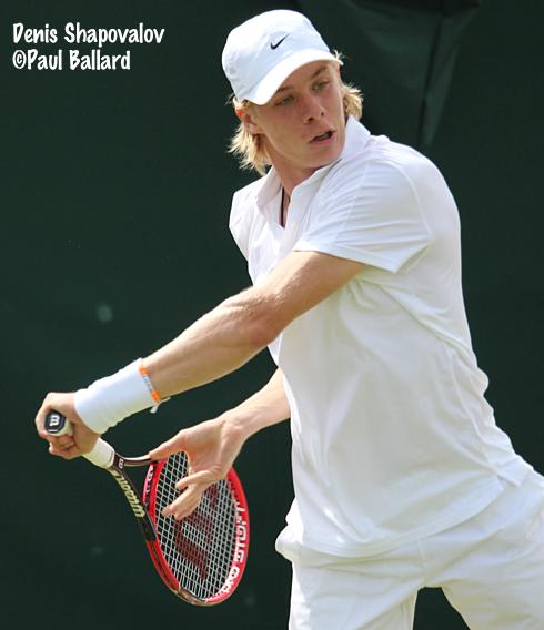 Bouchard, Shapovalov advance to 2nd round at Wimbledon