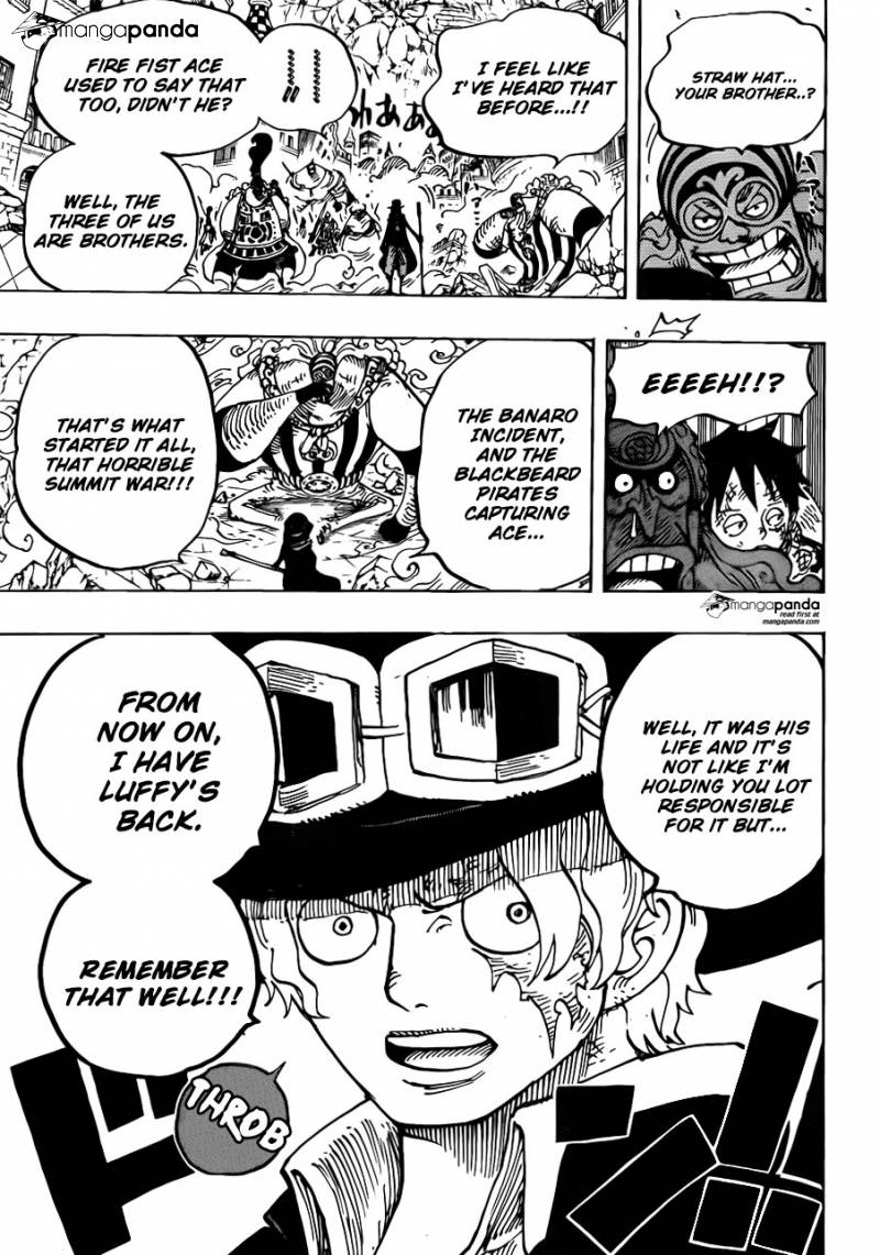 One Piece Ch 787: 004 Minutes Before