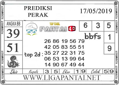 """Prediksi Togel """"PERAK"""" PANTAI4D 17 MEI 2019"""
