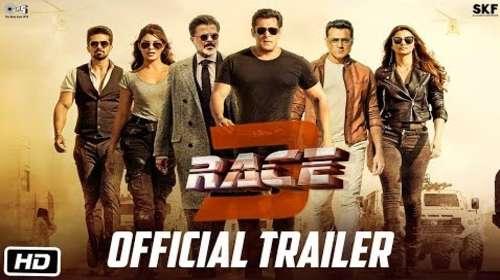 Race 3 (2018) Hindi Official Trailer HD 720p