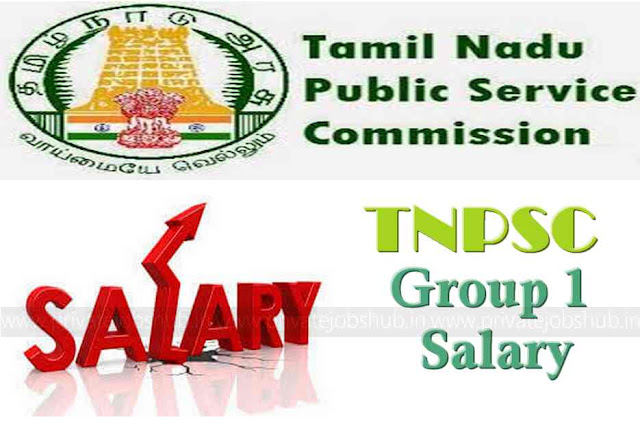 TNPSC Group 1 Salary