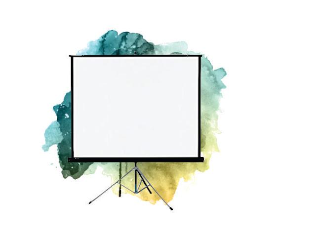 Rental Tripod Screen Lcd Proyektor Murah Malang - 70 inchi 1,8 Meter