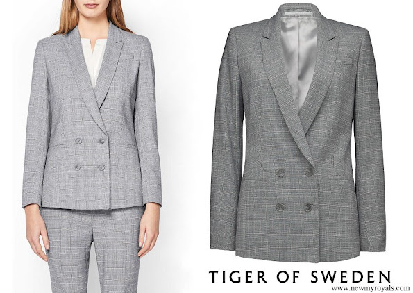 Crown Princess Victoria wore Tiger of Sweden chela blazer