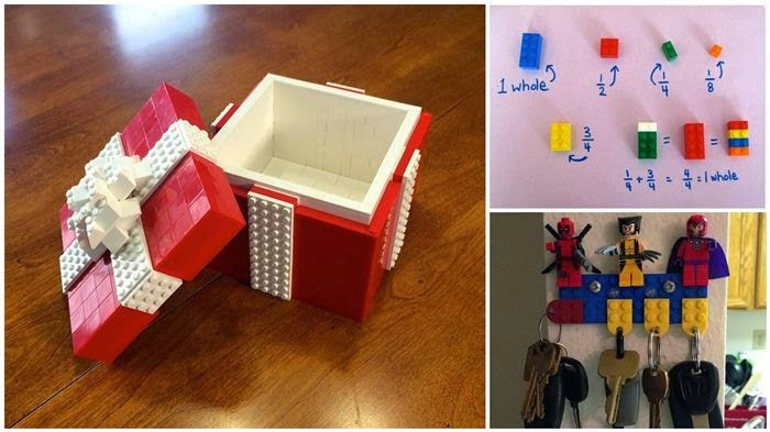 15 different way to use LEGO cubes in everyday life 10
