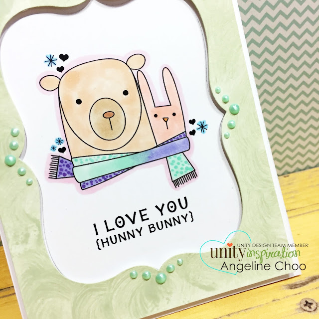 ScrappyScrappy: It's Brown Thursday with Unity Stamp #scrappyscrappy #unitystampco #brownthursday #card #cardmaking #stamp #stamping #papercraft #youtube #video #quicktip