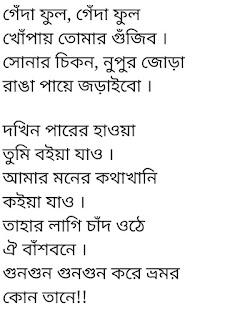 Khopay Tomar Gujibo lyrics by Sarowar Shuvo