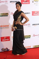 Sindhu looks fabulous in Black Saree designer choli at Mirchi Music Awards South 2017 ~  Exclusive Celebrities Galleries 055.JPG