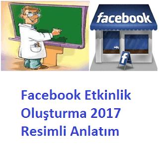 Facebook Etkinlik Oluşturma 2017
