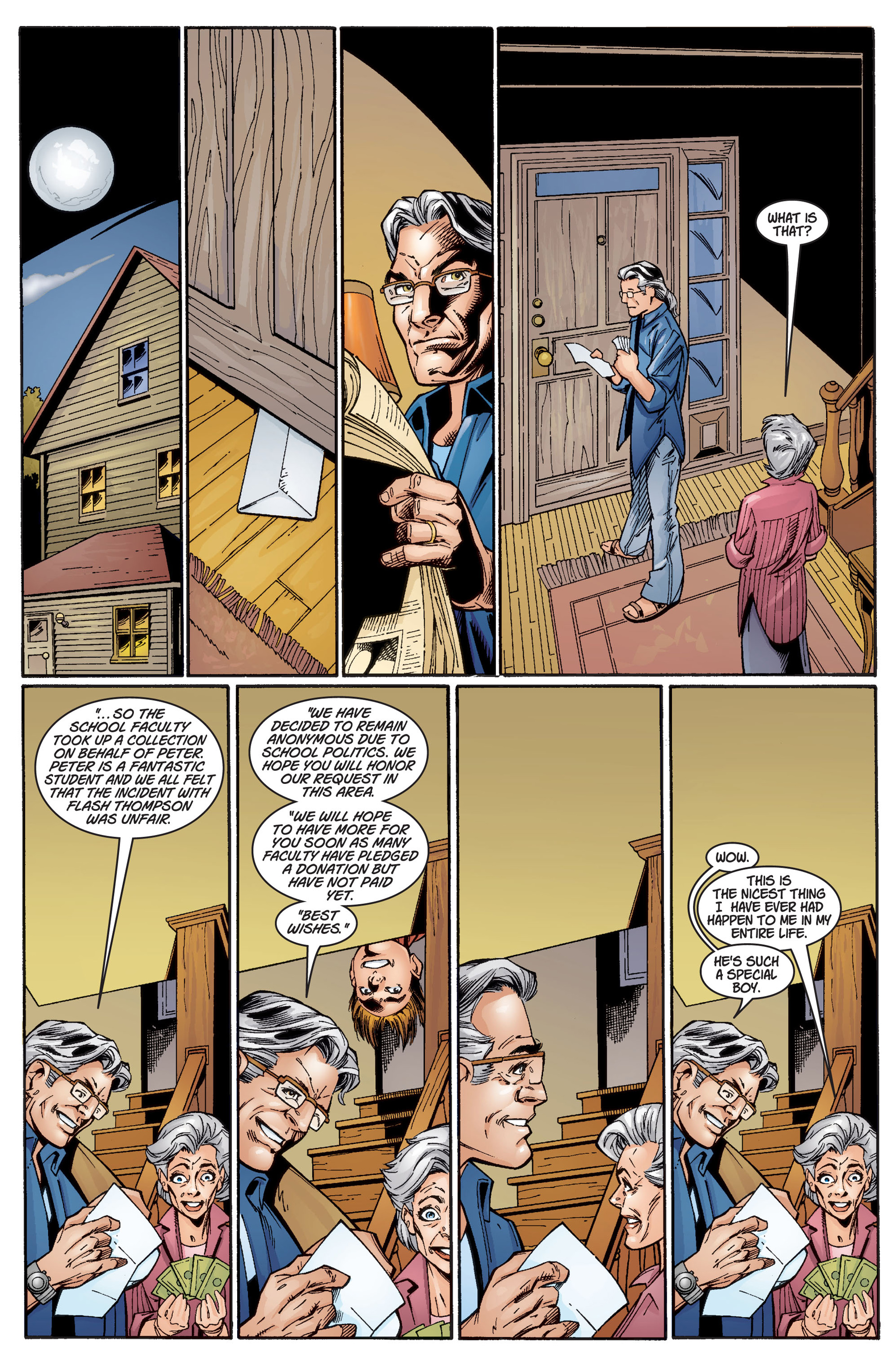 Read online Ultimate Spider-Man (2000) comic -  Issue #3 - 12