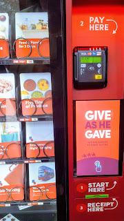 Giving Machine #LightTheWorld London Launch