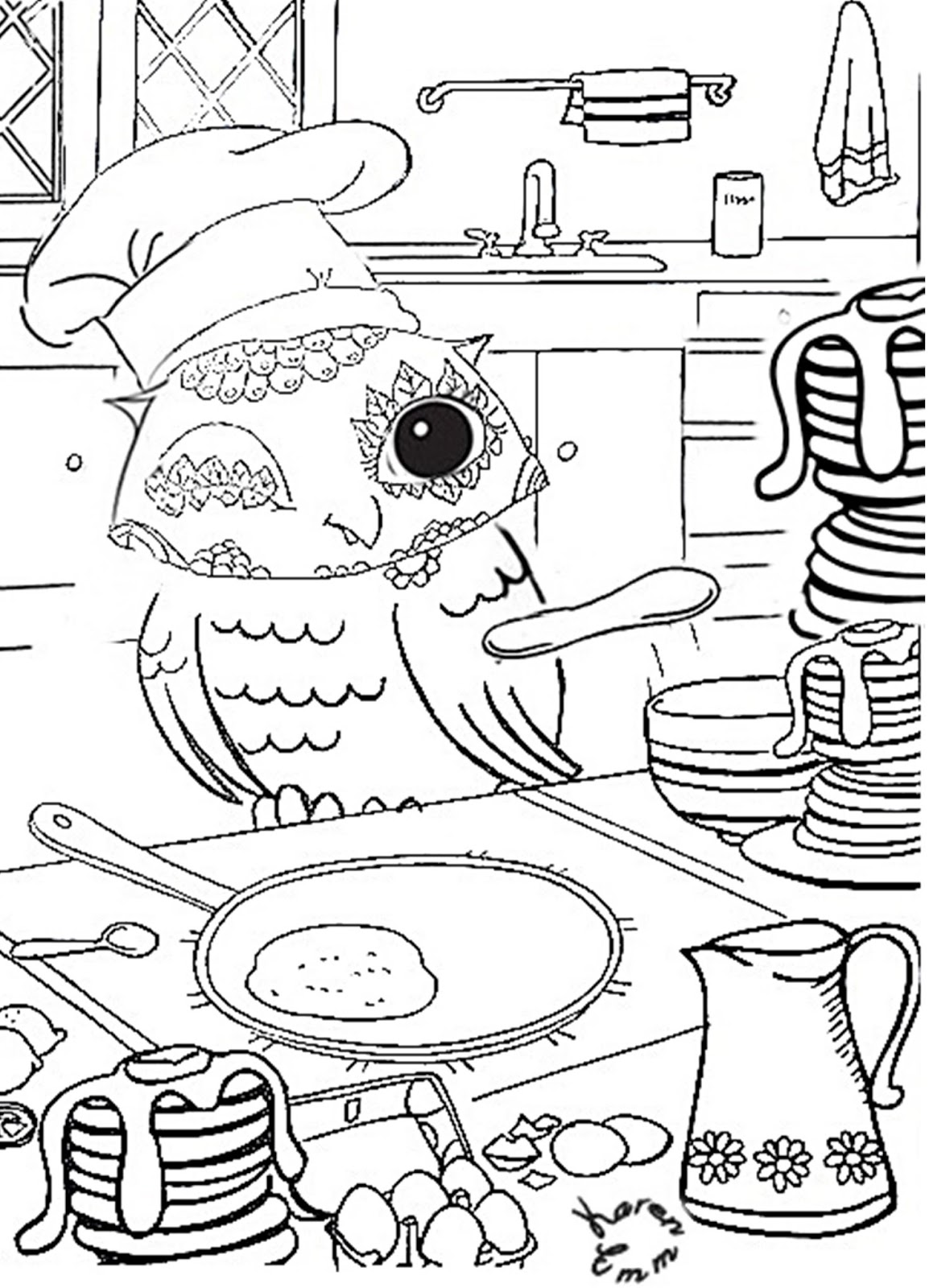 pancake coloring pages  28 images  free coloring pages of pig