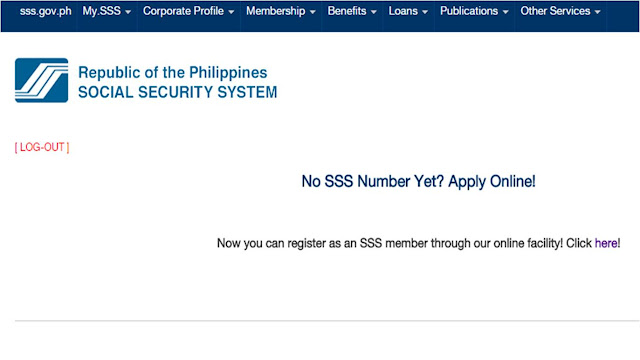 It is very important to have SSS number before making any contribution.  Here is the guide how you can obtain SSS number ONLINE.  It is important however, to submit the required documents  in any SSS branch near you, If you have dependents (children and spouse) you are also required to submit their birth certificates.