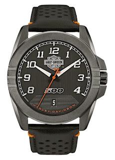 Harley-Davidson® Mens B&S Jet Black 78B143