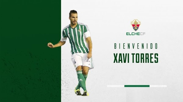 Oficial: El Elche ficha a Xavi Torres
