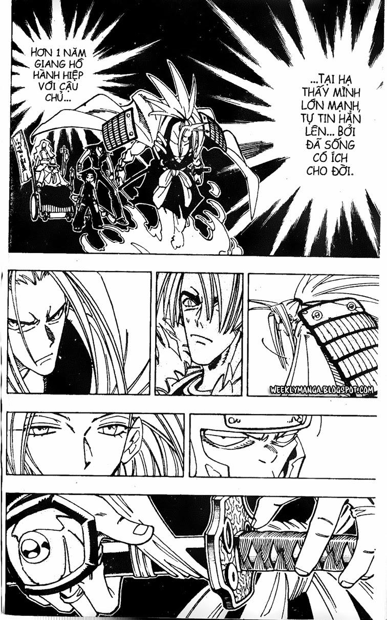 Shaman King [Vua pháp thuật] chap 128 trang 17
