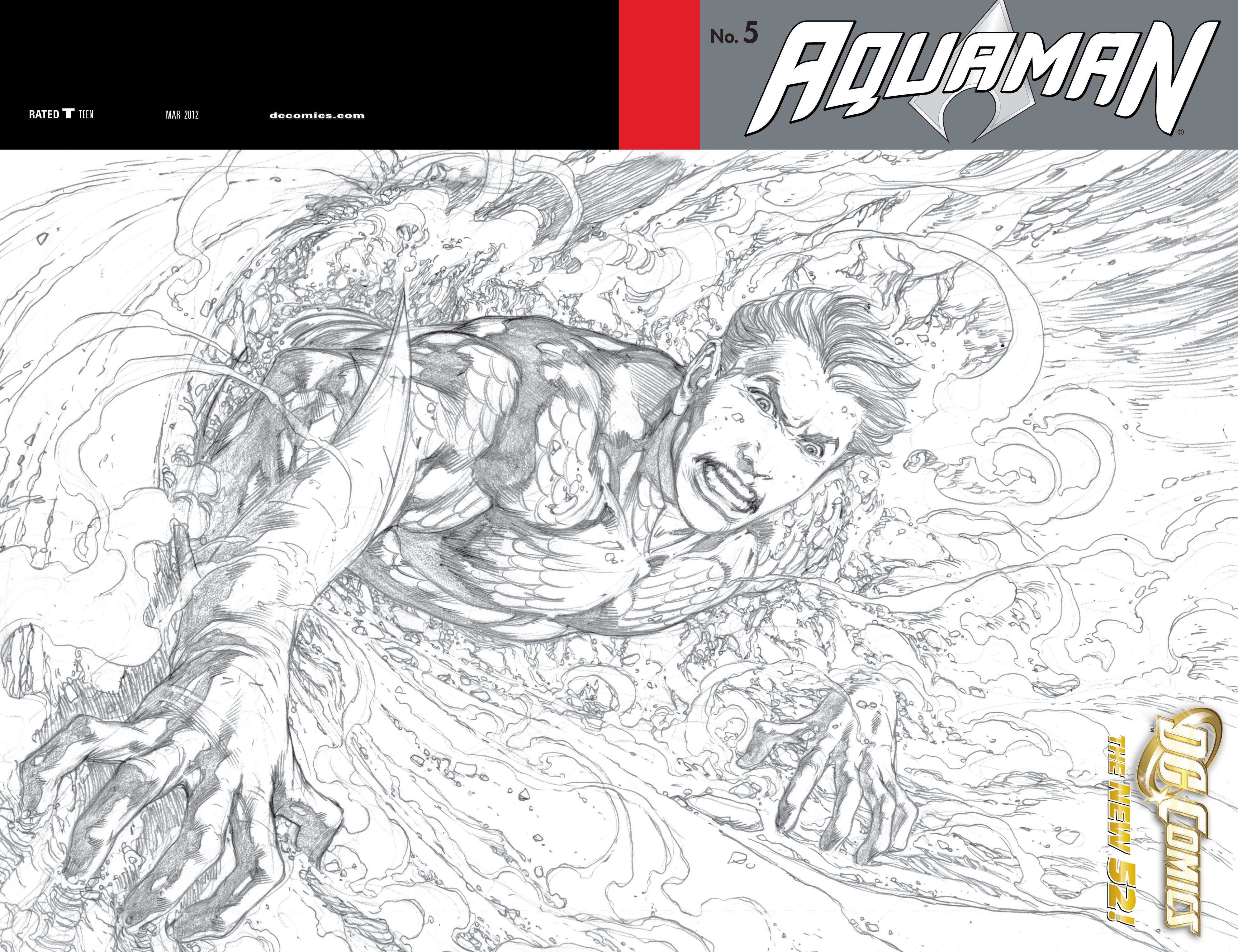 Read online Aquaman (2011) comic -  Issue #5 - 2
