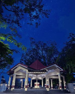 Quezon Park in Dumaguete City