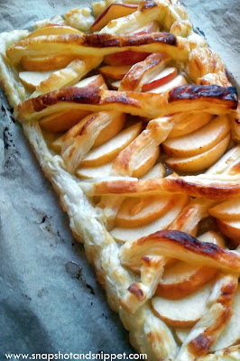 Apple and Maple Puff Pastry